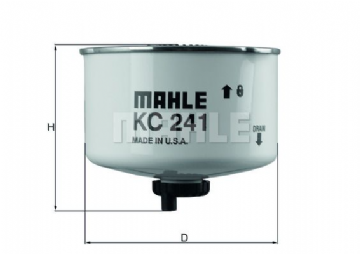 LR009705 Mahle KC241D (OEM in box) Fuel Filter VIN 7A000001 Onwards